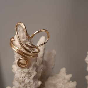 GOLDEN PLATED WIRE RING